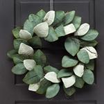 Wreath - Farmhouse, Magnolia Leaf