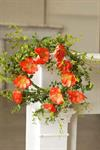 Wreath - Pure Poppies Sunset 22^