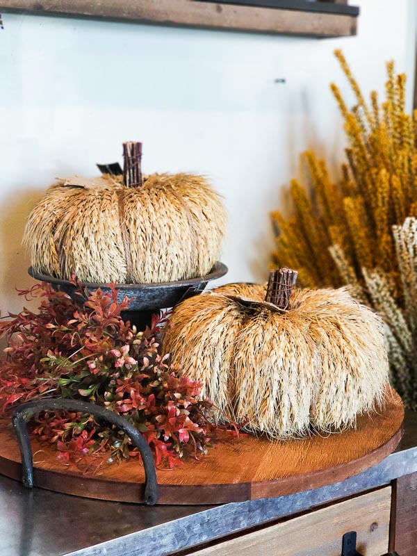 Wheat Pumpkins