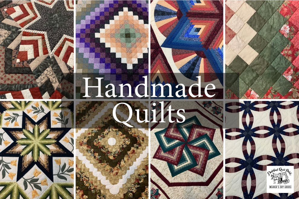 Fabric Amish Quilts And Farmhouse Country Decor For Sale